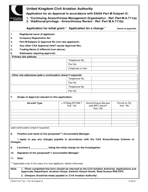 easa form 2 145 approval