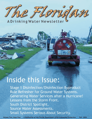 Volume 2, Issue 4 - Florida Department of Environmental Protection - floridadep