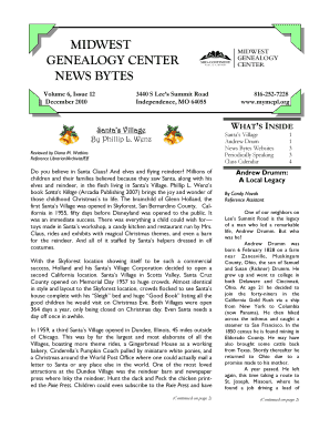 MIDWEST GENEALOGY CENTER NEWS BYTES - mymcpl
