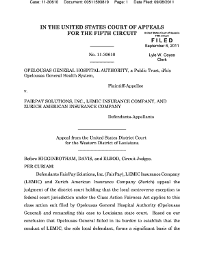 Case: 11-30610 - ca5 uscourts