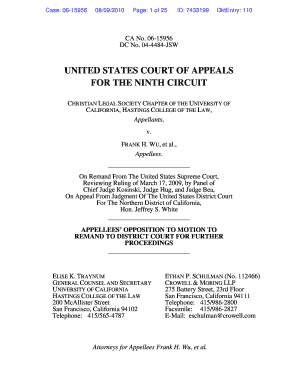 UNITED STATES COURT OF APPEALS FOR THE NINTH CIRCUIT - nacua