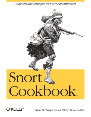 snort cookbook solutions and examples for snort administrators pdf form