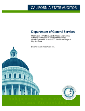 Department Of General Services - bsa ca