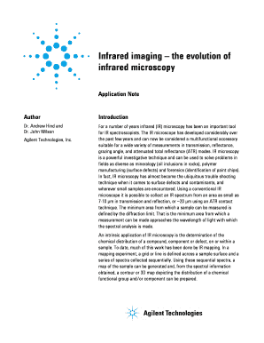Infrared imaging the evolution of infrared microscopy
