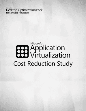 App - V Cost Reduction Study - Download Center - Microsoft