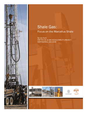 Shale Gas: - earthworksaction