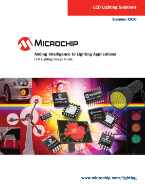 lighting application microchip form
