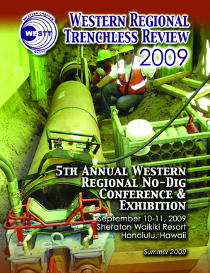 WESTT Trenchless Review - Western Chapter of NASTT - westt
