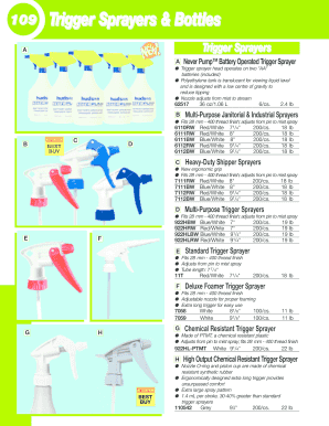 ptmt trigger sprayer form