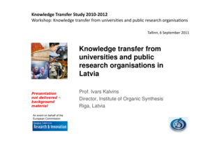 Download PDF , 228 KB - Knowledge Transfer Study - knowledge-transfer-study