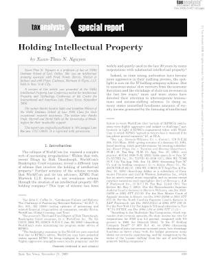 Holding Intellectual Property
