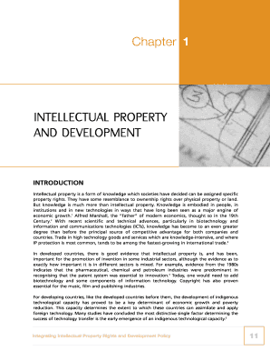 INTELLECTUAL PROPERTY AND DEVELOPMENT - iprcommission