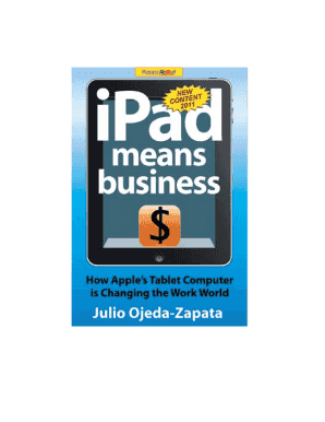 IPad Means Business Book Excerpt - Happy About Books