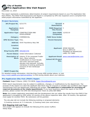 Pre- Application Requirements - City of Seattle - dpddata1 seattle