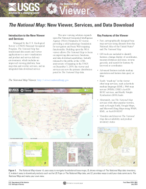 The National Map : New Viewer, Services, and Data ... - USGS - pubs usgs