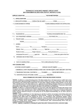 ucc permit application forms