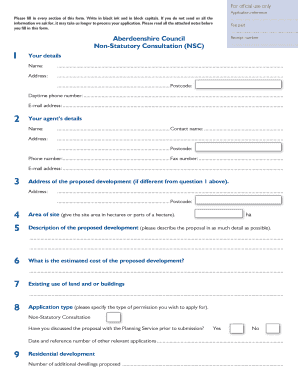 Nsc fillable form