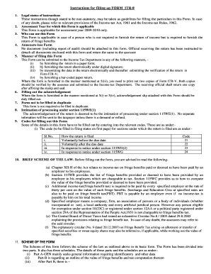 incometaxindiapr gov instructions form
