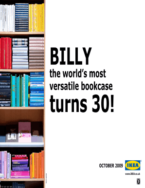 BILLY Turns 30! - IKEA