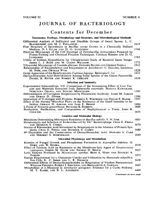 Table of Contents ( pdf ) - Journal of Bacteriology - jb asm