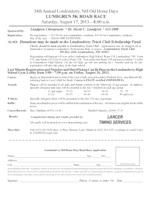 lundrgen londonderry old home days 5k registration form