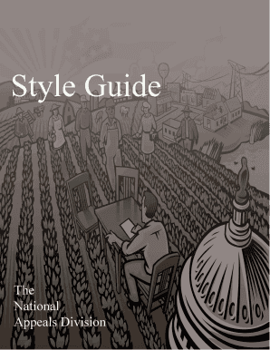 NAD Style Guide Manual - nad usda