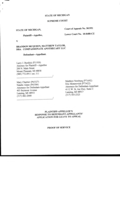 PDF Prosecutor's Response - On Medical Marijuana