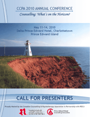 CCPA 2010 Annual Conference Call for Presenters 0 - ccpa-accp