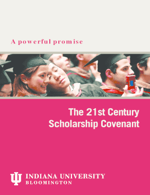 The 21st Century Scholarship Covenant - iub