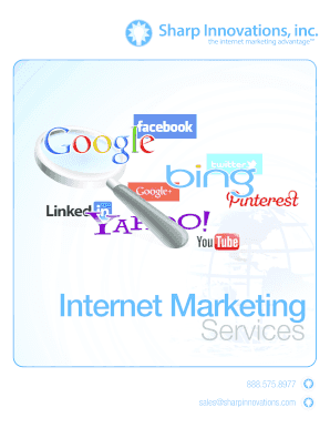 Internet Marketing - Sharp Innovations