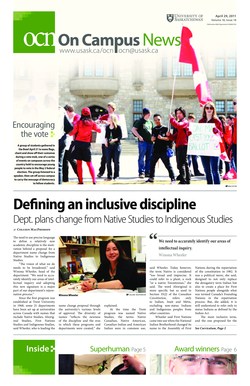 Download the April 29 , 2011 Issue ( PDF ) - On Campus News ... - news usask