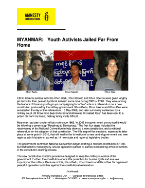 myanmar youth activists jailed far from home form