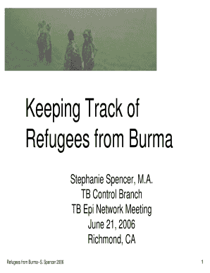 refugee myanmar powerpoint form