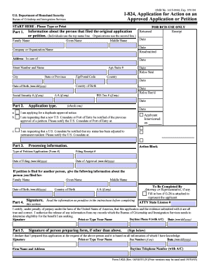 Fillable I 824 - Fill Online, Printable, Fillable, Blank | PDFfiller