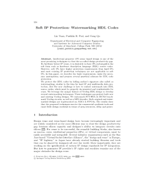 code for watermarking in hdl