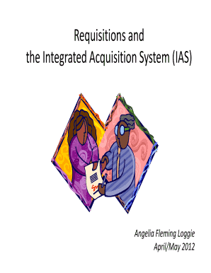integrated acquisition system ias form