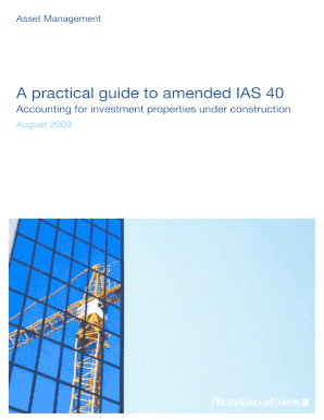 a practical guide to amended ias 40 form