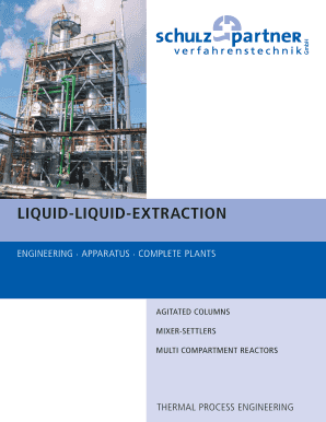 liquid liquid extraction flow chart form