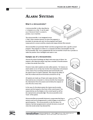 Picaxe alarm system fill online printable fillable blank picaxe alarm system sciox Images