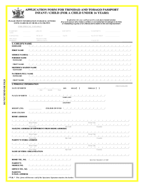 passport forms Templates - Fillable & Printable Samples for PDF ...