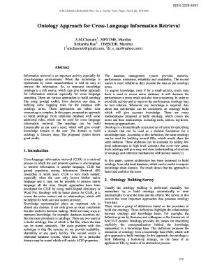 ontology approaches for marathi language information