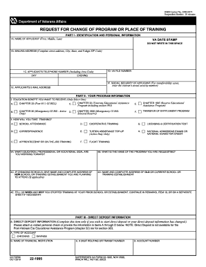 fillable 22 1995 form