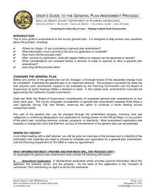 ordinance amendments ca protocol form