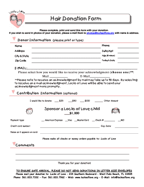 Love Form - Fill Online, Printable, Fillable, Blank | PDFfiller