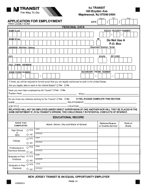 employment application form pdf fillable nordstrom job application ...