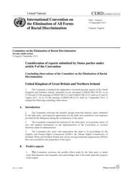 International Convention on the Elimination of All Forms of Racial ... - www2 ohchr