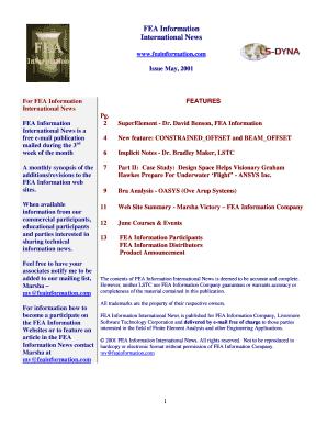 Ls Dyna Superelement - Fill Online, Printable, Fillable