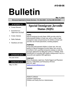 Special Immigrant Juvenile Status (SIJS) - Family to Family California - f2f ca