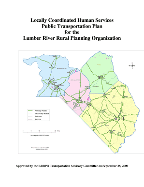Locally Coordinated Human Services Public Transportation Plan for ... - ncdot