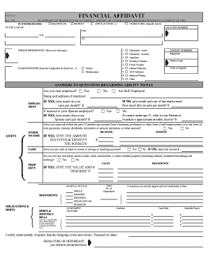how to fill out a cja 23 form for md